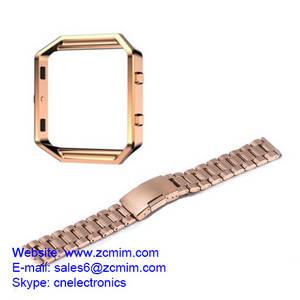 Wholesale wrist watch: Stainless Steel Watch Band Wrist Strap Bracelet Machining