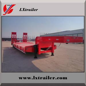 Wholesale semi trailer: China 3 Axles Lowbed Semi Trailer