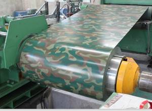 Wholesale s250: Filmed&Camouflage Pattern Steel/Printed Galvanized Steel Coil/Printed Color Steel Coil