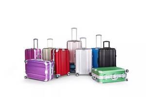 Wholesale travel bag: Customize Aluminum Luggage Travel Bag with Wheels