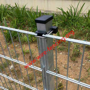 Wholesale rhs steel sizes: double wire fence