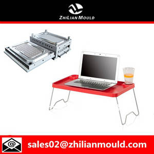 Wholesale plastic injection mould: Portable Plastic Laptop Stand Injection Mould