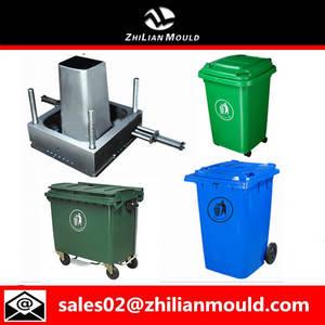 Wholesale 2d code: Hot Sale Enhanced 100L Plastic Dustbin Mould with Two Wheels