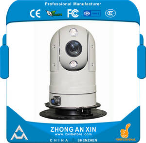 Wholesale infra red: Intelligent Car Surveillance Infra Red Dome Cameras Mini PTZ Camera