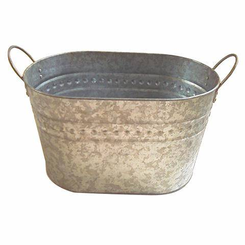 Image gallery tin buckets for Galvanized well bucket