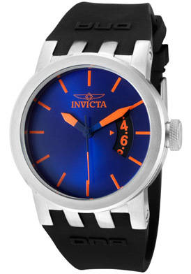 Sell Invicta Watch 10412 Women s DNA/Urban Blue Dial Black Silicone