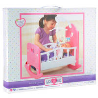 Sell You And Me Baby Doll Rocking Cradle