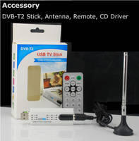 Sell DVB t2 usb tv stick TuneLY-015 Digital satellite r with antenna Remote HD T