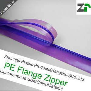 Wholesale pe ziplock bag: Flange Zipper