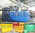Sell road barrier blow molding machine