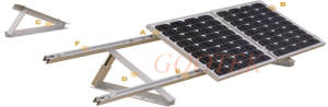 Wholesale adjustment system: Solar Rooftop (Adjustable) Triangle Mounting System