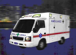 Wholesale 3 step mask: Ambulance KIA New Bongo 1 T Truck Chassis (4 x 4 Drive)
