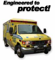 Ambulances made in Canada GMC-FORD
