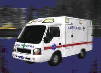 Ambulance KIA New Bongo 1 T Truck Chassis (4 x 4 Drive)