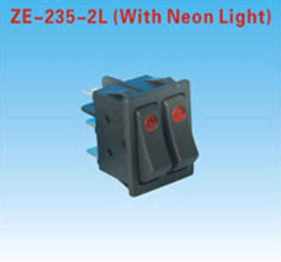 Sell Zing Ear Rocker Switch (ZE-235-2L)