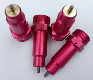 Wholesale red dot: Korea Red Color Air Impact Dot Peen Marking Machine Needle Components