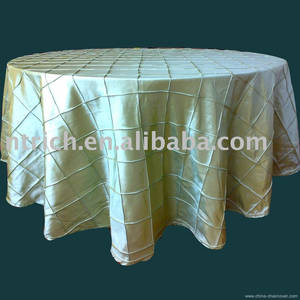 Wholesale table cover: Pintuck Table Cloth,Taffeta Table Cloth,Table Cover,Table Linen for Wedding,Banquet,Hotel