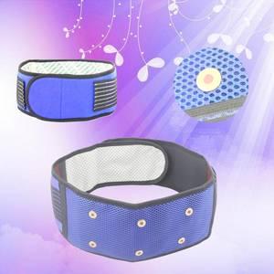 Wholesale fashion belt: Fashion Heating Waist Trimmer Belt Magnetic Adjustable Waist Support Lumbar Belt