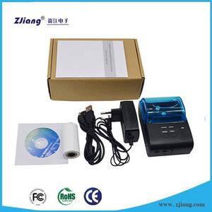 Wholesale handheld mobile thermal printer: Android Handheld Pos Thermal Printer with Bluetooth Enabled POS/ZJ-5805