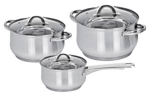Wholesale Cookware Sets: 6pc Cookware Set