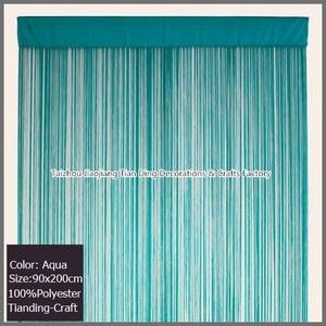 Wholesale string fringe curtains: Fringe Door Curtain-String Curtain