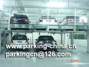 Wholesale parking system: Underground Hydraulic PSH Parking System