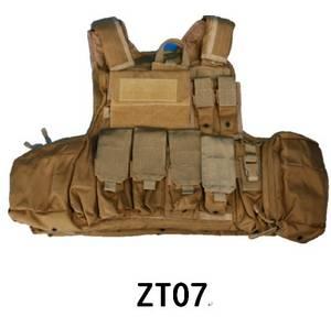 Wholesale Bullet Proof Vest: NIJ IIIA Military Bulletproof Quick Release Vest