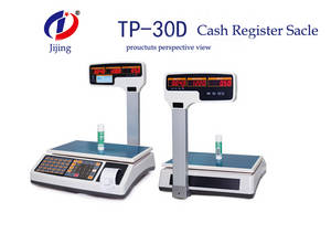 Wholesale digital barcode scanner: China factory cheap Cash Register Scale