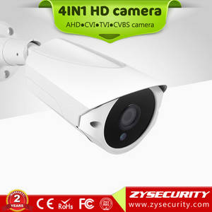 Wholesale cctv accessories: Zysecurity CCTV HD 720P Ahd 4in1 Camera for New Design Outdoor Special Bullet 4in1 Camera