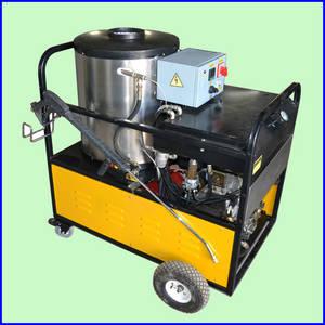 Wholesale oil gun: Easy Move Diesel Hot Water Jet High Pressure Cleaner