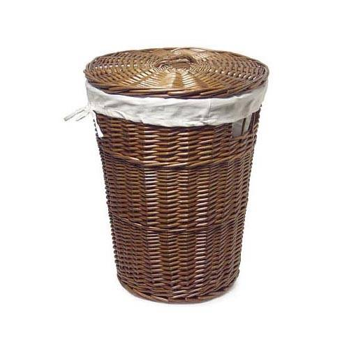 The gallery for wicker laundry basket with lid - Rattan laundry basket with lid ...