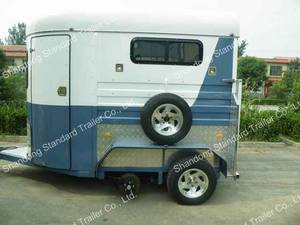 Wholesale rhs steel sizes: 2 Horse Straight Load Trailer Camping Trailers