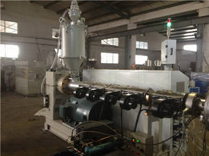 Wholesale pneumatic stacker: (LSZS55/110) UPVC Twin/Double Pipe Extrusion Line