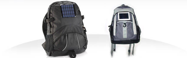 Solar Powered Bagpack