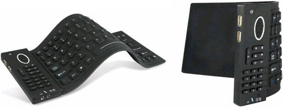 Flexible Keyboard with Skype Phone