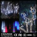 LED Meteor Shower Rain Tube Garland Christmas Tree Snow Decorative Xmas Outdoor Fairy  String Lamp