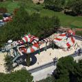 Water Park Equipment Fiberglass Snake Style Water Slide