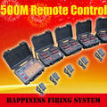 96 Cues Salvo&Sequential Wireless Remote Fireworks Firing System