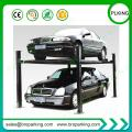 Commercial Grade 4 Post Hobbyist Car Parking Lifts with CE Approved