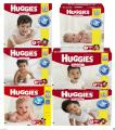 Huggies Snug and Dry Baby Diapers ALL SIZES NEWBORN - SIZE 6