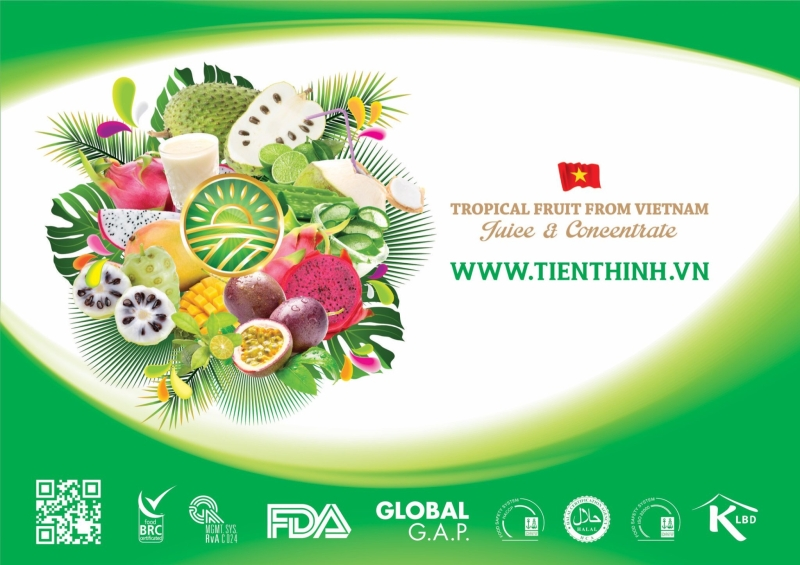 Tien Thinh Agriculture Product Processing One Member Ltd Co