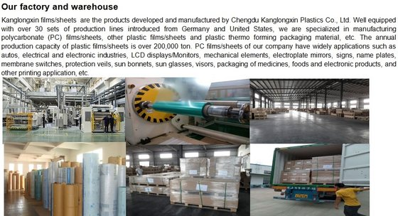 Chengdu Kanglongxin Plastics Co.,Ltd
