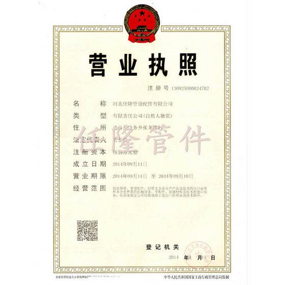 Hebei Renlong Pipe Fittings CO.,LTD.