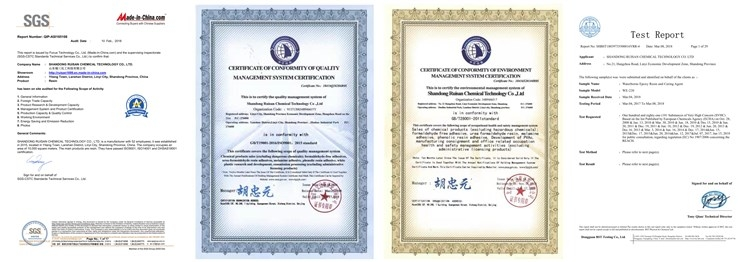 Shandong Rusian Chemical Technology Ltd,China