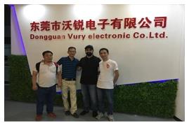 Dongguan Vury Electronic.,Ltd