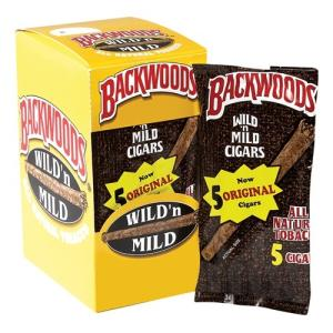 Wholesale flavours: AUTHENTIC DISCOUNT RATE Back/Woods Cig-ars Different Flavour