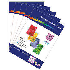 Wholesale inkjet: 100 Sheets of Double-sided A4 120gsm High Quality Glossy Photo Paper for Inkjet