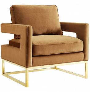 Wholesale Chairs & Recliners: Avery_chair_cognac Furniture