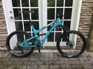 Wholesale frame bike: 2017 Yeti SB5 Mountain Bike Shimano XT Excellent Condition XL Carbon Frame