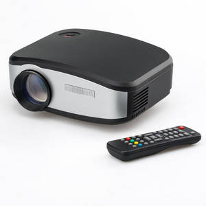 Wholesale table throw: CHEERLUX C6 Mini Projector / Proyector HD for Home Theater